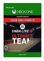 NBA LIVE 18: NBA UT 2800 Points Pack - Xbox One [Digital Code]