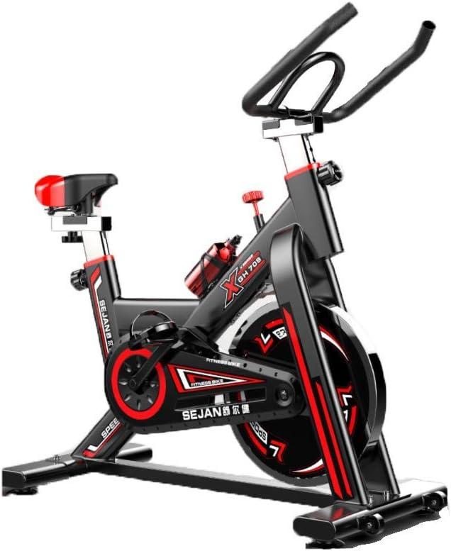 Acobonline Bicicleta Estatica Spinning Fitness, Bicicleta Profesional para Uso domestico,con Monitor,Calidad Profesional