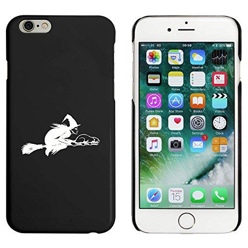 Noir 'Sorcière Volante' étui / housse pour iPhone 6 & 6s (MC00089056)