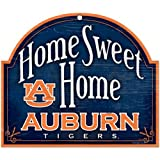 WinCraft NCAA Auburn University Wood Arched Sign 10'' x 11'', 10 x 11