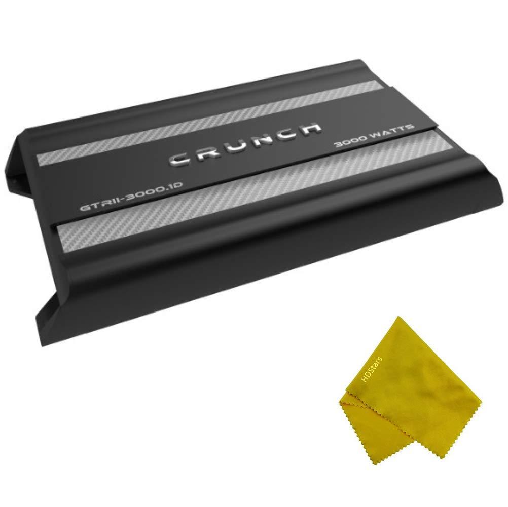3000 Watts Monoblock Class D Subwoofer Amplifier Crunch Class D Mono Amplifier 3000W