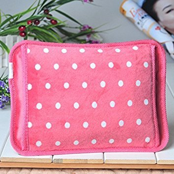 Hot Therapies Hot Water Bottle Heating Pad Cordless Warme...