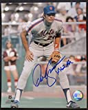 Signed Dave Kingman Picture - 8x10 w 442 HR - Autographed MLB Photos