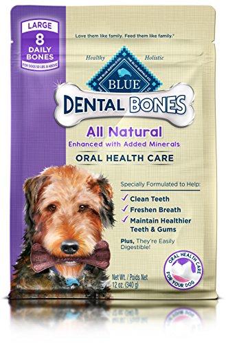 BLUE Dental Bones Adult Mini Dental Chew Dog Treat 27-oz Value Pack