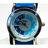 Reflex Tutor: reloj de niños, correa de velcro, color: azul