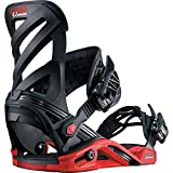 Salomon Snowboards Hologram Snowboard Binding Black/Red, M