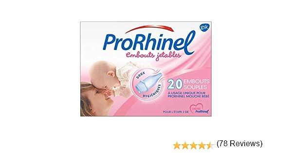 PRORHINEL - Recambios desechables para aspirador nasal (20 ...