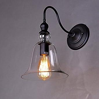 Schlafzimmer Bad Hinter Glas Loft Wohnung   Anbiratlesn Modern Wandleuchten E27 Antik Wandlampe Vintage Rustikal