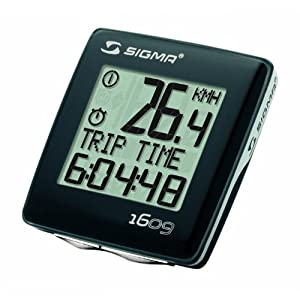 Sigma BC 1609 Cadence Bicycle Speedometer