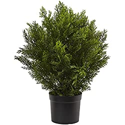 Nearly Natural 6880 (Indoor/Outdoor) 2' Cedar Artificial Bush