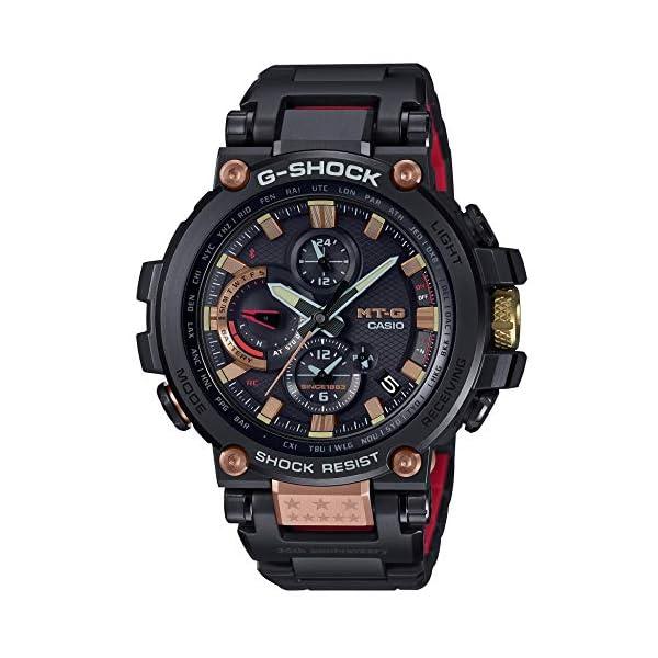 51iAO35l8jL. SS600  - Casio G-SHOCK MTG-B1000TF-1AJR Magma Ocean 35th Anniversary Limited Radio Solar Watch (Japan Domestic Genuine Products)