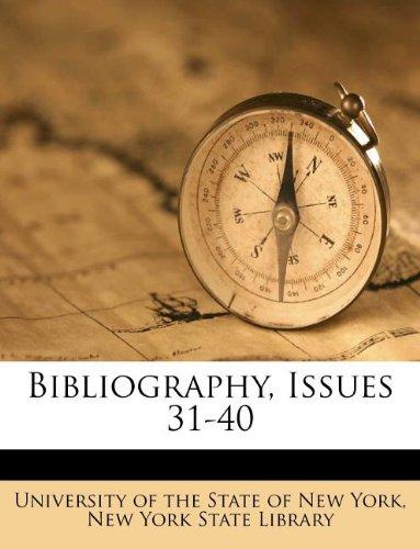 Read Online Bibliography, Issues 31-40 pdf epub