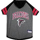 Atlanta Falcons Pet Hoodie T-Shirt - Large