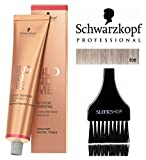 Schwarzkopf Professional Blond Me Blonde Toning (NEW VERSION - 2.1 oz); includesSleek Tint Brush (ICE)
