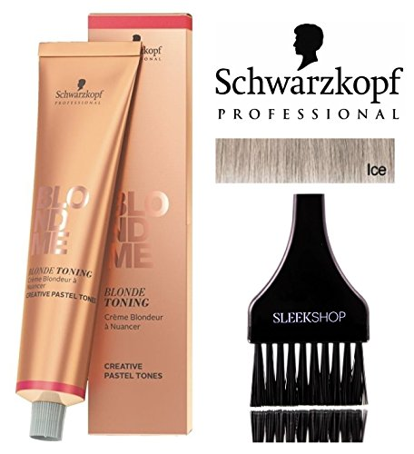 - Schwarzkopf Professional Blond Me Blonde Toning (NEW VERSION - 2.1 oz); includes