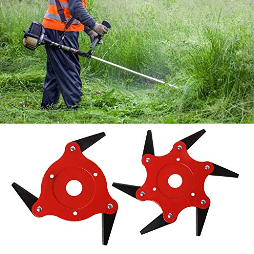 tajiarous-3T 6T Blade Manganese Steel Razor Mower Grass Trimmer Head Cutter Blade for Garden Lawn Power Tools