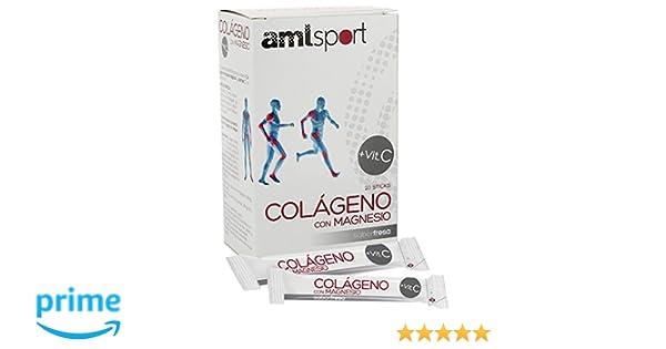 Amazon.com: ANA MARIA LAJUSTICIA COLAGENO con MAGNESIO y Vit.C fresa 20sti A: Health & Personal Care