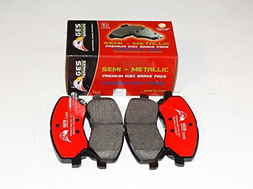 Dodge Caliber Mitsubishi Galant Chrysler Premium Quality Front brake Pads D866 by GES PARTS (Image #1)