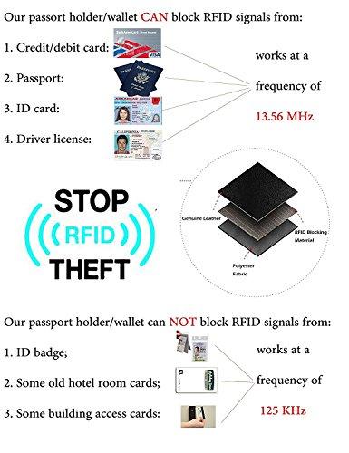 Kalmore Credit Card Holder Genuine Leather Slim & Thin Pocket Wallet Minimalist Wallet Money Clip RFID Blocking by KALMORE (Image #7)