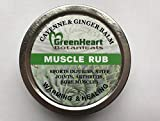 Greenheart Sore Muscle Rub with Cayenne & Ginger 2oz
