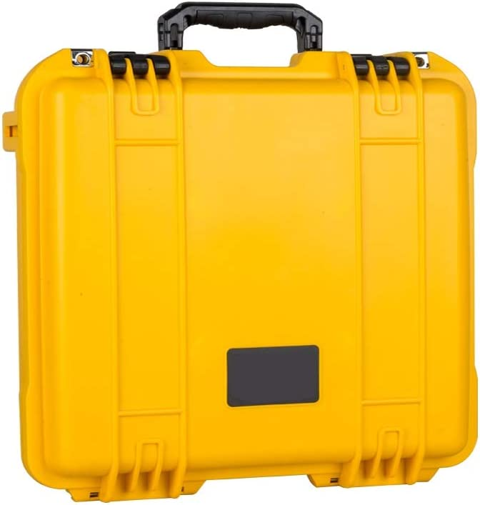 Hard Case Multi-Function Safety Protection Box,Accessories Storage Protection Case PP Material Waterproof Hard Case