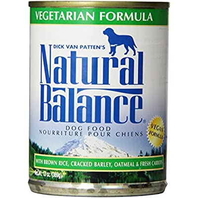 Natural Balance Vegetarian Formula Dog Food (Pack Of 12 13-Ounce Cans)