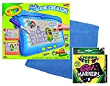 Magic Scene Creator Deluxe Set Includes Animator Unit with 70 Motion Cards & Markers PLUS 8 Bonus Crayola FX Gel Markers & Screen Cleaning Cloth