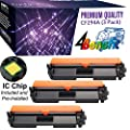 4Benefit Compatible CF294A Toner Cartridge Replacement for HP 94A CF294A for HP Laserjet Pro M118dw Laserjet Pro MFP M148dw Laserjet Pro MFP M148fdw Black 3 Pack 1200 Page Yield