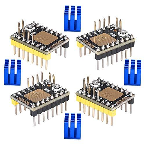 BIGTREETECH 3D Printer Part Stepstick Mute TMC2130 V3.0 Stepper Motor Driver with Heat Sink for SKR V1.3 Ramps 1.6 1.5 MKS GEN L Control Board (SPI Mode)