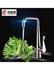 Kitchen Faucets Copper And Ceramic Valve Sink Faucet Hot And Cold Sink Faucets