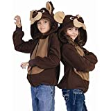 Kids Bailey the Bear Funsie Hoodie
