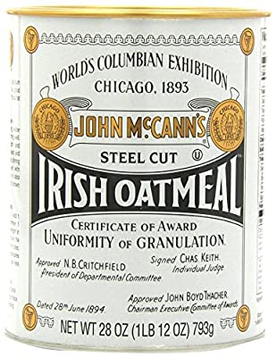McCanns Steel Cut Irish Oatmeal Tin, 28 oz by McCann's