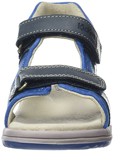Kickers KickersPlatino - Zapatos de Punta Descubierta Niños Bleu (Bleu Foncé Bleu)