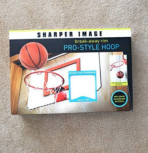 (Sharper Image Break-Away Rim Pro-Style Hoop Basketball Game)