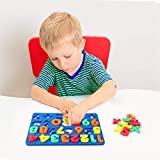 237 Pcs Magnetic Letters and Numbers with Magnetic
