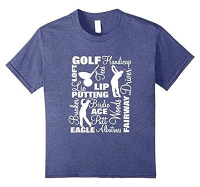 Golf Players Golfing Slogans Cool Golfers Gift T-Shirt