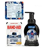 """""""Safety First"""" Star Wars Band-Aids Brand Bandages & Germ Fighting Hand Soap! Plus Bonus Star Wars """"I've Grown"""