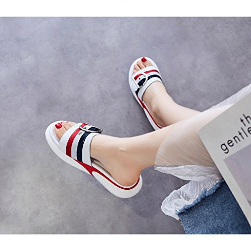 Estate Abbigliamento Sportive Sandali dimensioni Pantofole 5 Moda Scarpe Donna 5 WqBHwWnxE