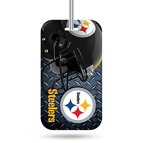 - Rico Industries NFL Pittsburgh Steelers Plastic Team Luggage Tag