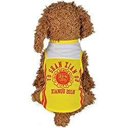 Clearance Pet Clothes Cinsanong Fashion Cool Sports Mesh Puppy Shirt Spring and Summer Dog Vest Costumes