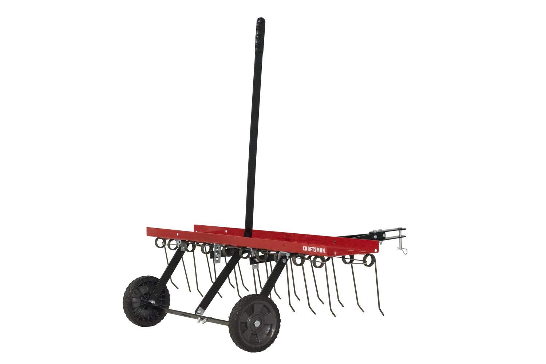 Craftsman CMXGZBF7124315 40 Detatcher Tow Lawn Dethatcher, Red by Craftsman
