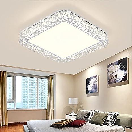 Sursy Dormitorio de hierro, lámpara de techo, simples ...