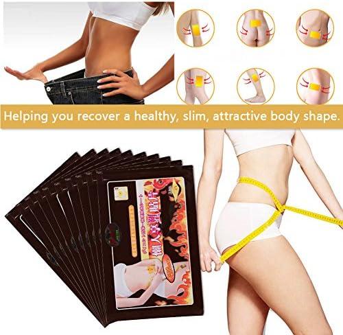 10 Stücke Abnehmen Patches Fettverbrennung Gewichtsverlust Aufkleber Toxin Beseitigung Abnehmen Während des Schlafens