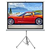 """Amazon Price History for:Projector Screen, Auledio Portable 100"""" Diagonal 16:9 HD Manual Pull Down Video Projection Screens with Tripod Stand - Suitable for HDTV / Sports / Movies / Presentations"""