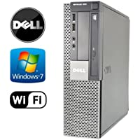 Dell Optiplex 960 SFF Desktop - Core 2 Quad 2.13GHz - 8GB DDR 2 RAM - NEW 1TB HDD - Windows 7 Pro 64-Bit - WiFi - DVD/CD-RW (Prepared by ReCircuit)
