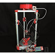 [Sintron] Ultimate 3D Printer Kossel Mini Full Complete Kit with Auto level + Bowden hotend + MK8 Extruder + RAMPS 1.4 + LCD2004 + MEGA 2560 + A4988 + NEMA 17 Motor + Endstop + Round Aluminum MK3 Heat