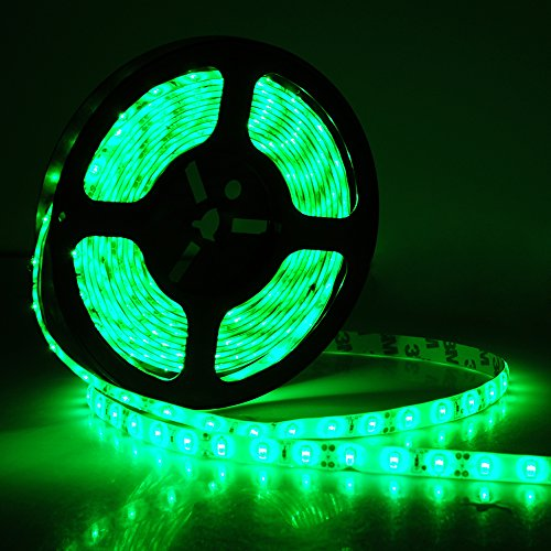12 Volt Green Led Light Strips Waterproof - 1