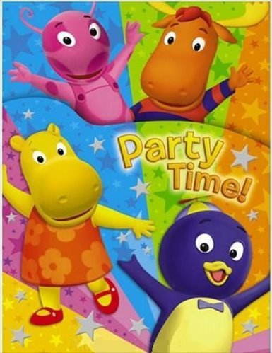 Backyardigans Party Invitations - Designware Backyardigans Invitations w/ Env. (8ct)