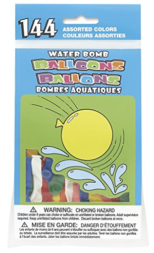Round Water Balloons Assorted 144ct product image