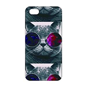 Cool colorful glasses cats 3D For SamSung Galaxy S5 Mini Phone Case Cover